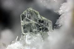 Kuzelite, Ca4Al2.4(OH)12.8(SO4)•6(H2O), Bellerberg, Ettringen, Eifel, Germany. Size 0,78 mm. Copyright: Matteo Chinellato