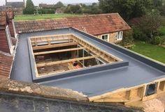 Flat Roof Roofing Repair or Replacement - CE Roofing roofing repair Roofing Services, Roofing Contractors, Lantern Roof Light, Flat Roof Replacement, Flat Roof Repair, Roof Sealant, Conservatory Roof, Diy Roofing, Roof Shapes