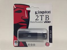 Get a 2 TB Kingston datatraveler 200 flashdrive!