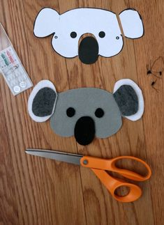 Free Printable Koala Mask Click On The Image To Download