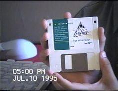 AOL Floppy Disk