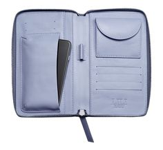Two Tone Wallet Iconic Blue/Baby Blue - Inside