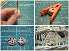 Мастерим пасхальную курочку из бумажной лозы - Ярмарка Мастеров - ручная работа, handmade