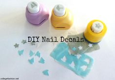 Nail Art How-to: DIY Nail Decals. Discover the easy way to make your own nail decals with our DIY tutorial. Step by step photos. Tips on how to use nail stickers.