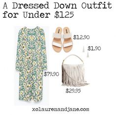 A Dressed Down Outfit for Under $125 - xo, lauren and jane
