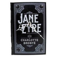 """Jane Eyre ~ The plight of many a lovely cover is to be hidden in a stack of books. The Lonely Hunter makes sure that cover-dwelling illustrations are given their moment, placed on a wall for all to see. Glance at depictions of your treasured tale every time you check the hour, and smile about the newfound meaning of """"storytime."""""""