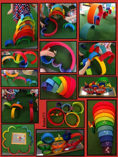 """Rainbow play from Rachel ("""",)"""