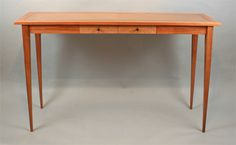 hall table with 2 drawers image