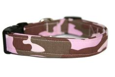 Pink Camo Dog Collar by ALeashACollar on Etsy Handmade Dog Collars, Handmade Gifts, Pink Camo, Belt, Trending Outfits, Unique Jewelry, Dogs, Accessories, Vintage