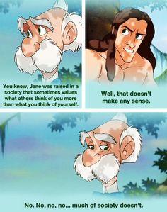 Tarzan...Life Lessons
