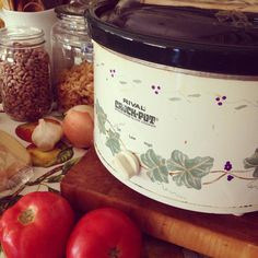 My crockpot from #Goodwill will be working overtime during the fall season. #thrift #kitchen #crocktober #cook #food #soup