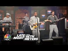 """Watch Fred Armisen and Bill Hader's Talking Heads Parody Band Perform on """"Seth…"""