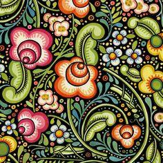 folk inspired : bohemia design - julia paschkis