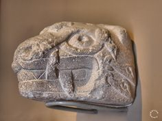 Tenon Head of Jaguar, Chavin Culture. Peru