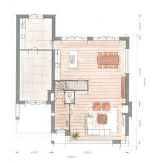 Huis bouwen villa Icarusblauwtje plattegrond begane grond