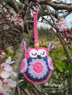 Artmorixe - Labores y manualidades: Búhos y más búhos a crochet - Reto Amistoso nº 62