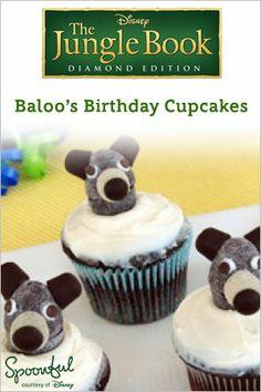 Baloo's Birthday Cupcakes