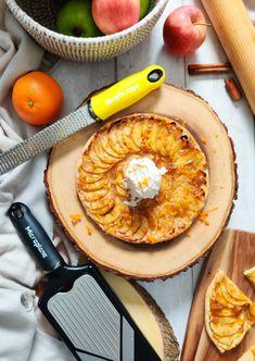 Orange Marmalade Apple Tart Fine - Autumn Recipe