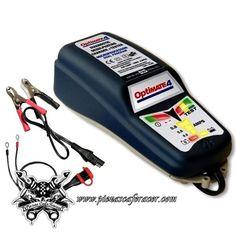 77,52€ - ENVÍO GRATIS - Cargador de Baterias de Litio Coche/Moto TECMATE Optimate 4 Dual