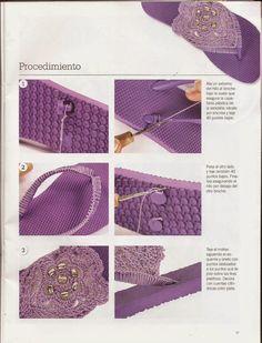 Boho Sandals, Beaded Sandals, Crochet Shoes, Crochet Slippers, Crochet Stitches, Crochet Patterns, Crochet Flip Flops, Most Comfortable Shoes, Gorgeous Heels