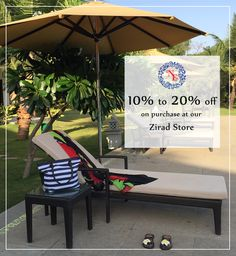 De-stress yourself on this comfortable day-bed by the pool only from Nostalgia Enterprises. Now Available at our furniture store @ Zirad, Alibaug. ❝Flat 10 to 20% off across all the products - Great Monsoon Bargains!❞ whatsapp +91 73918 68437 www.nostalgiaenterprises.com #nostalgiaenterprises #daybed #style #homedecor #offer #besthomestore #lifestyle #discount #rainingsale #monsoonoffer #grab #zirad #alibaug #sale #grabthismonsoonoffer #mustvisit