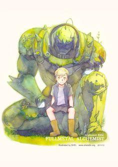 Series: Fullmetal Alchemist - Character: Alphonse Elric - Artist: SHEL