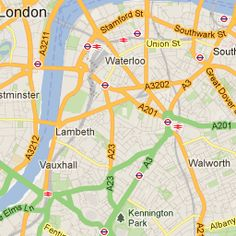 London Tourist Map - London Tourist Attraction Map