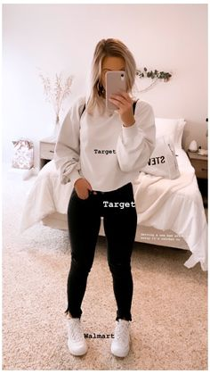 Cute Outfits With Leggings, Cute Lazy Outfits, Teenage Girl Outfits, Basic Outfits, Teen Fashion Outfits, Casual Fall Outfits, Trendy Outfits, Good Outfits, Cute Outfits For Fall