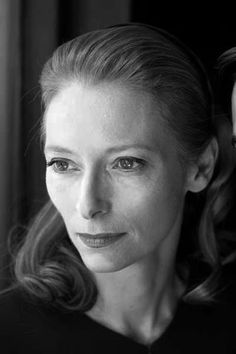 Tilda Swinton. I don't find her attractive, but she has such a naturally commanding presence that you can't help but find her magnetic and fierce.