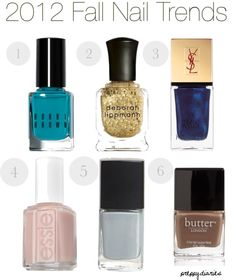 """""""2012 Fall Nail Trends"""" by popcosmo on Polyvore"""