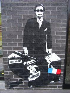 blek le rat art. #bleklerat http://www.widewalls.ch/artist/blek-le-rat/