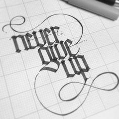 never give up... by Erik Gonzalez