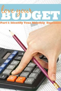 Love Your Budget Part 1 - Know Your Monthly Expenses. Take the first step to establishing a strong budget by evaluating how and what you spend every month. Get your FREE printable to help the process! {The Love Nerds}