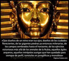 Los ojos de Tutankamón