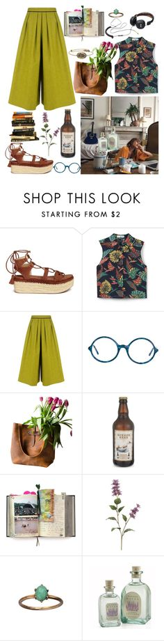 """""""Untitled #105"""" by cranberryst ❤ liked on Polyvore featuring Stuart Weitzman, MANGO, BIG PARK, American Apparel, Suck and Alex and Ani"""