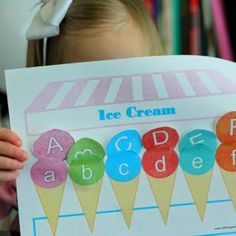 Preschool Contributor: Letter Sorting Printable