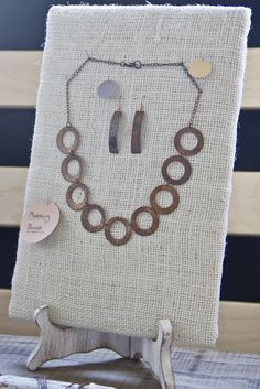 Embergrass Jewelry | Blog: How to: make jewelry display…