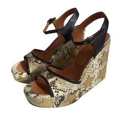 e468b39708bff Sandales compensés Magic ivoire CHIE MIHARA - T40 Sandales Compensées,  Bottes, Escarpins, Chaussure. eBay