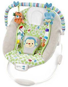 ca879ec1947 Comfort   Harmony Monkey Bouncer Bright Starts Taggies Swings Customer  Returns for sale online
