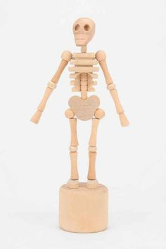 Lazy Bones Collapsible Wooden Skeleton