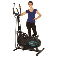 Get in shape with the 300LS air elliptical from Progear, featuring a compact design that is ideal for apartments or small spaces. The cross-training machine provides a low-impact workout using the nat                                                                                                                                                     More