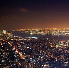 """NY-Vista desde el """"Empire State"""""""