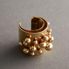 Pol Bury - 18K gold ring - markings include French hallmark - Belgium, c.1969