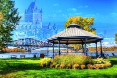Quebec City Park and Bridge: Amazing Royalty-Free Stock Photos at Great Prices. We hope you will enjoy our Superb Quebec City Imagery, just like we do. Royalty Free Pictures, Royalty Free Stock Photos, Artsy Photos, Best Stocks, Quebec City, Photomontage, Us Images, Park City, Image Photography
