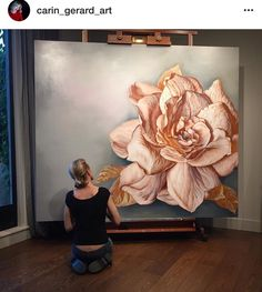 Discover thousands of images about Victoria Herrera Mural Painting, Painting & Drawing, Wallpaper Nature Flowers, Botanical Art, Painting Inspiration, Flower Art, Watercolor Paintings, Modern Art, Art Drawings