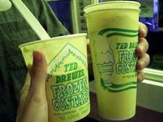 Ted Drewes Concrete Ice Cream, St. Louis