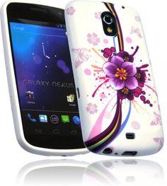 Silikon Case Handy Tasche LACE Samsung Galaxy Nexus i9250 Etui Schutzhülle Cover