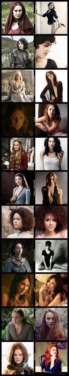 Women of Game of Thrones
