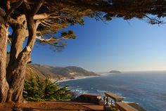 Drive along the Pacific Coast Highway, CA: Route 1, from Monterey to Morro Bay. Take the scenic route on Highway 1 through Big Sur—it's stunningly beautiful. http://www.independenttraveler.com/travel-tips/none/best-romantic-road-trip-pacific-coast-highway-ca http://www.theroamingboomers.com/photographs-driving-through-big-sur-on-californias-highway-1/