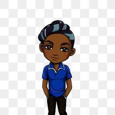 Chibi Boy, Cute Chibi, Anime Chibi, Man Clipart, Clipart Images, Background Banner, Geometric Background, Black Background Painting, 2000 Cartoons